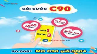 Nhận 60GB Data không giới hạn khi đăng kí C90 Mobiphone