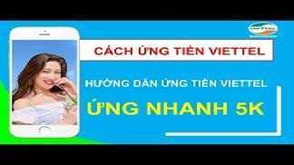 3 Cách Ứng Tiền Viettel 5K Thành Công 100%